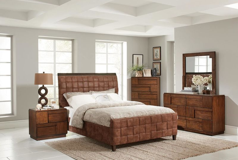 Gallagher Bedroom Set with Upholstered Bed