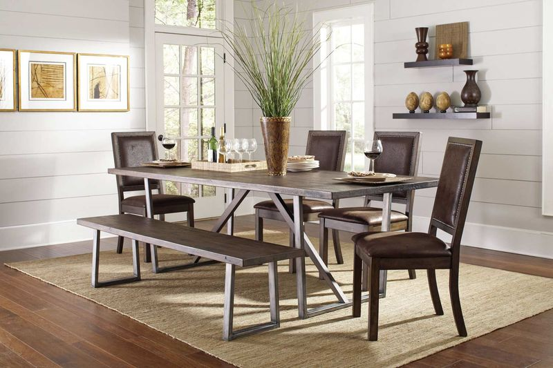 Genoa Dining Room Set with Bench