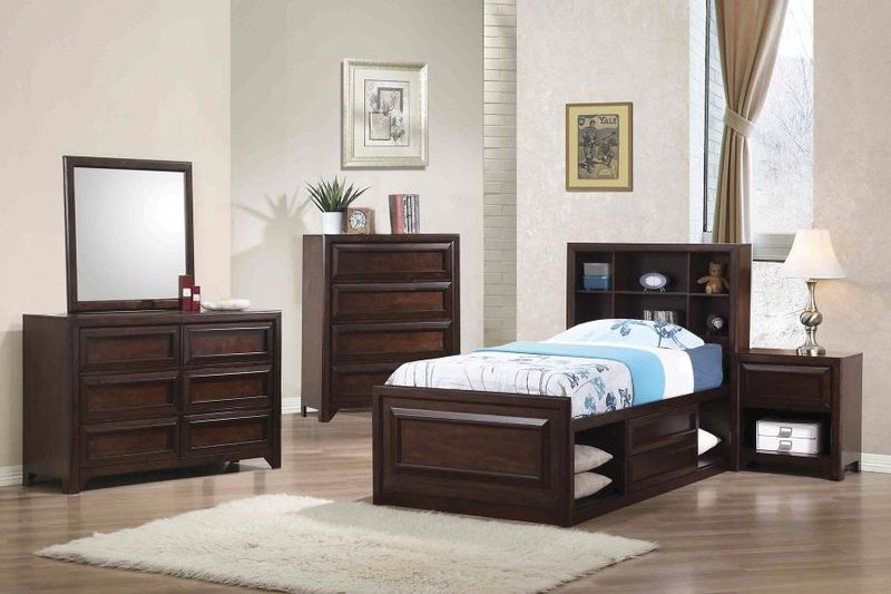 Greenough Youth Bedroom Set with Storage Bed