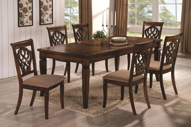Dallas designer furniture delavan formal dining room set Dining room furniture dallas