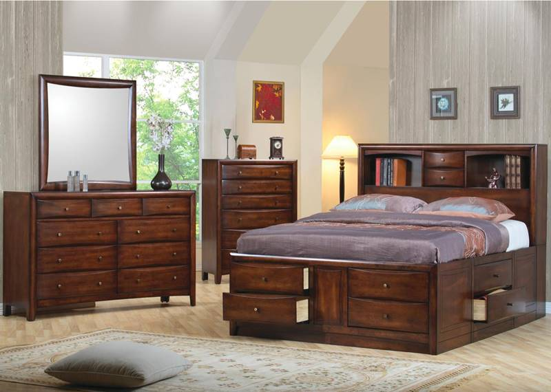 Hillary Bedoom Set with Storage Bed