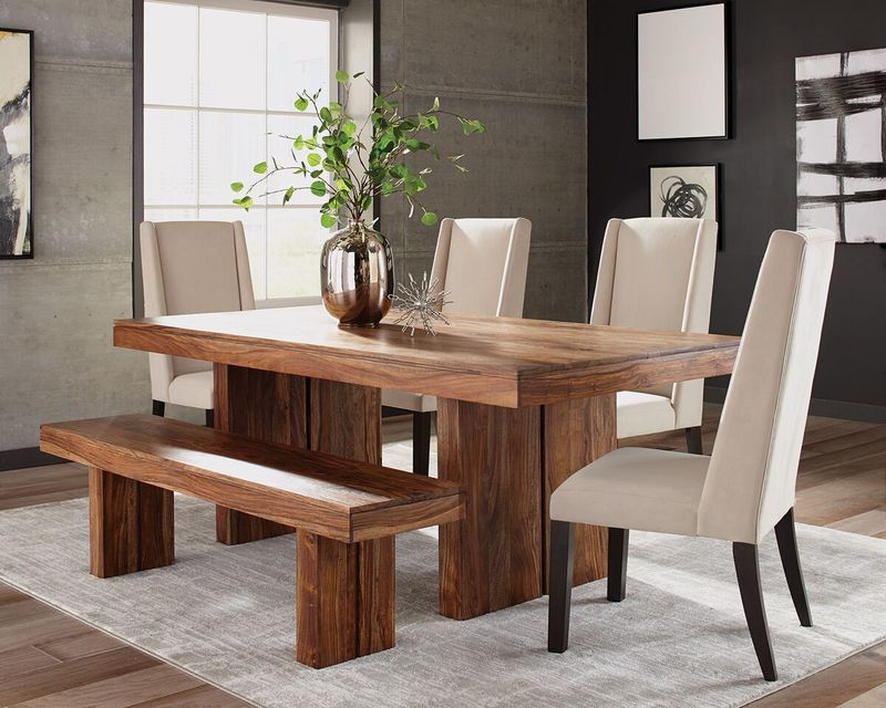 Hillsborough Dining Room Set with Bench