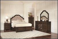Llana Bedroom Set in Antique Java