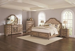 Ilana Bedroom Set with Storage Bed