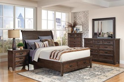 Ives Bedroom Set with Storage Bed
