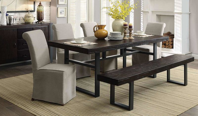 Keller Dining Room Set with Bench