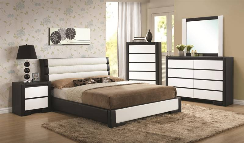 Kimball Bedroom Set with Platform Bed
