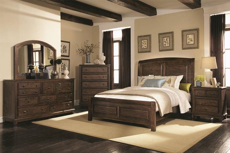 Laughton Rustic Bedroom Set