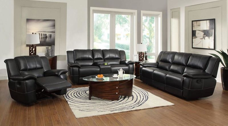 Lee Reclining Leather Living Room Set