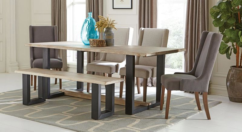 Levine Dining Room Set with Bench