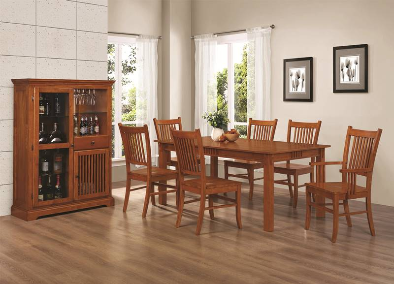 Marbrisa Mission Inspired Kitchen Table Set