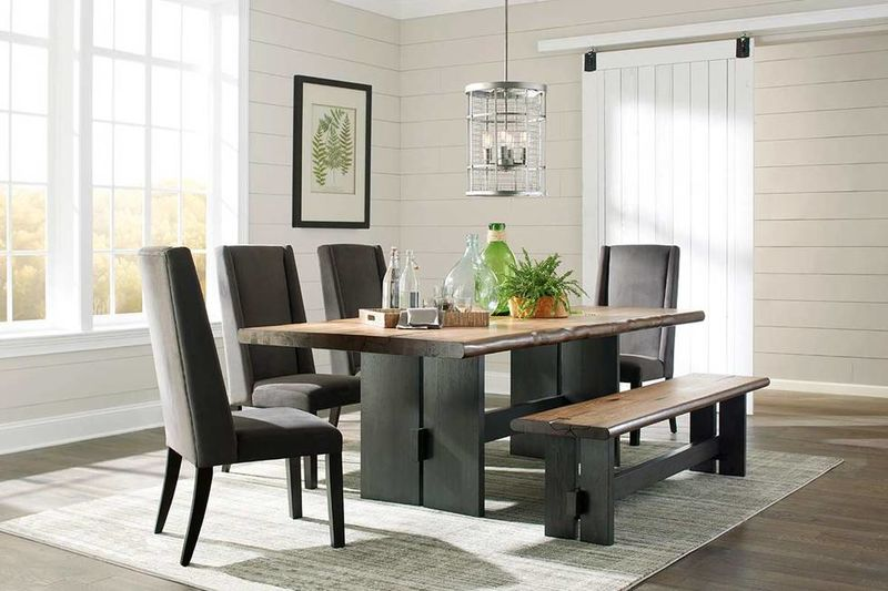 Marquette Dining Room Set with Bench