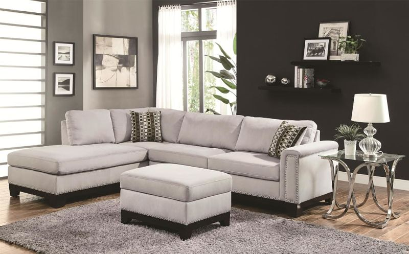 Mason Sectional in Grey
