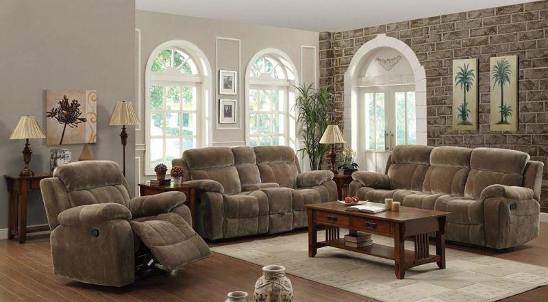 Myleene Reclining Living Room Set in Velvet