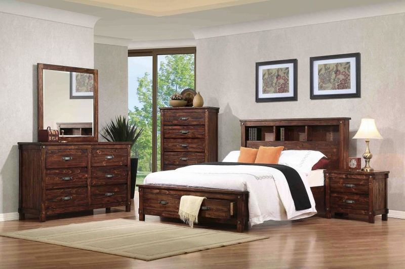 Noble Bedroom Set with Storage Bed