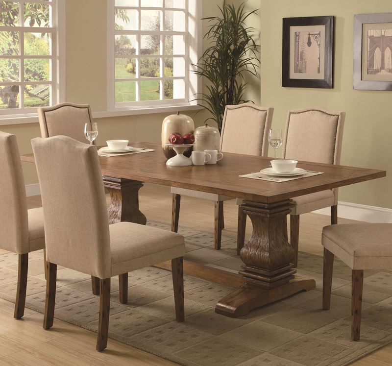 Parkins Formal Dining Room Set with Upholstered Chairs