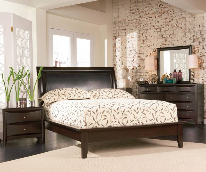 Phoenix Bedroom Set with Platform Bed