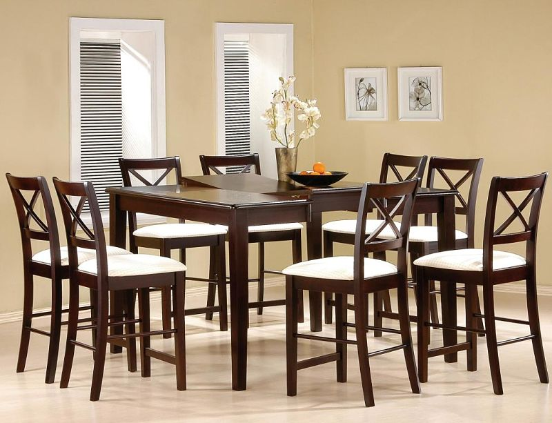 Pryore Counter Height Dining Table Set