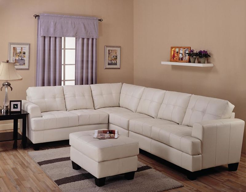Samuel Sectional in Cream