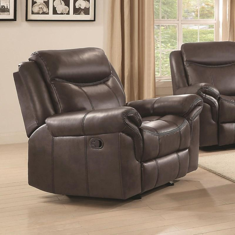 Sawyer Glider Recliner in Brown *Clearance*