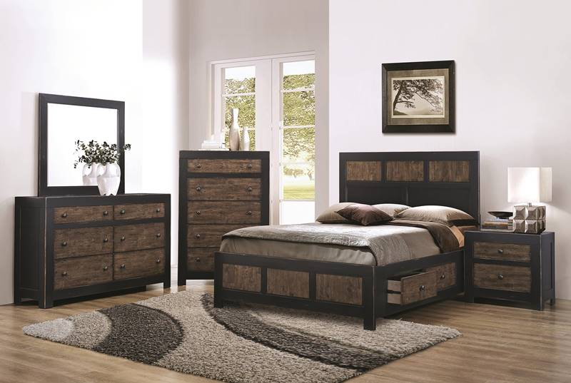 Segundo Bedroom Set with Storage Bed