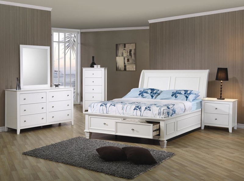 Selena Youth Bedroom Set with Storage Bed