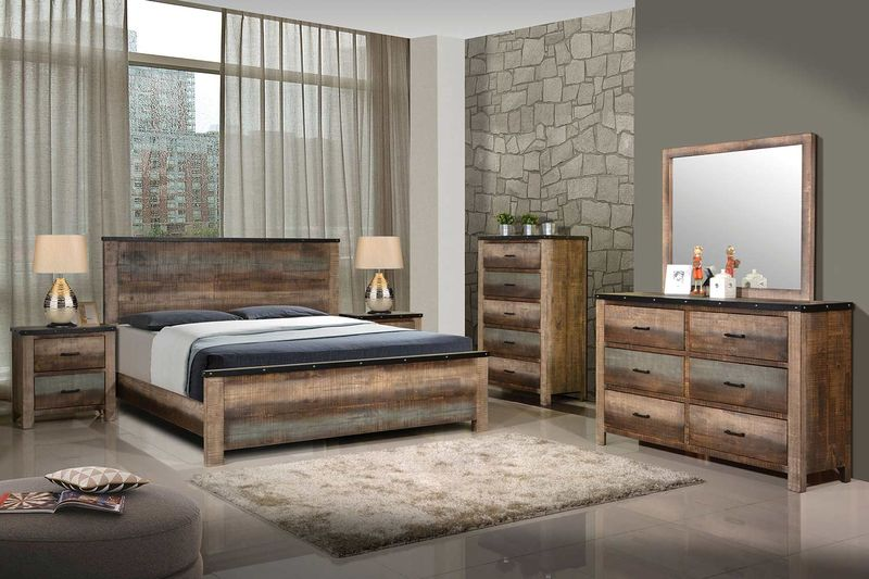 Sembene Rustic Bedroom Set
