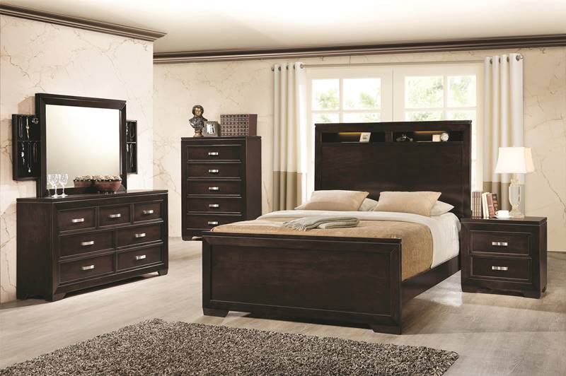 Solano Bedroom Set with Mood Lighting