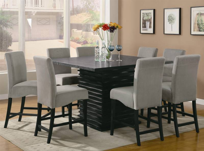Stanton Counter Height Table Set With Grey Chairs ...