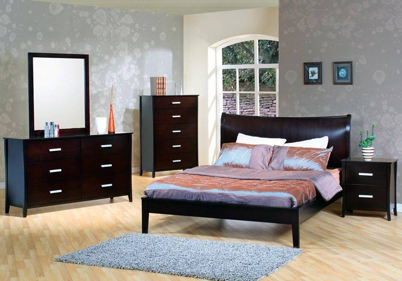 Stuart Bedroom Set with Platform Bed