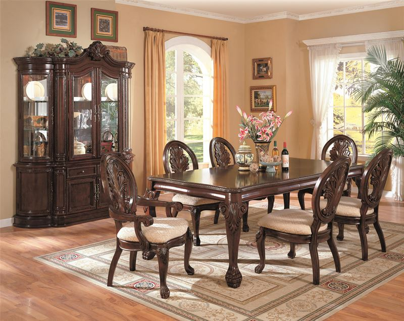 Tabitha Formal Dining Room Set with Leg Table