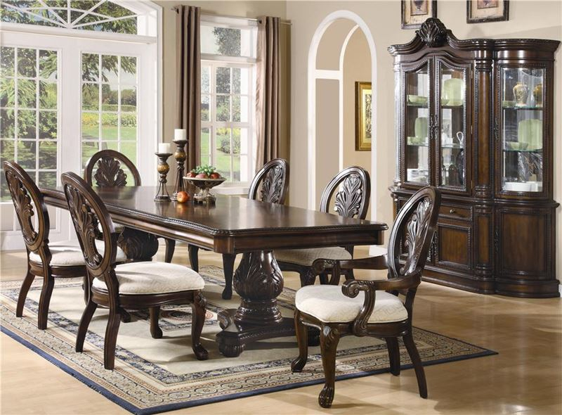 Tabitha Formal Dining Room Set with Pedestal Table
