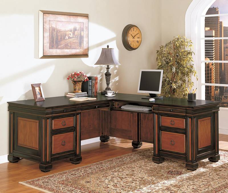 Tate L Shaped Desk