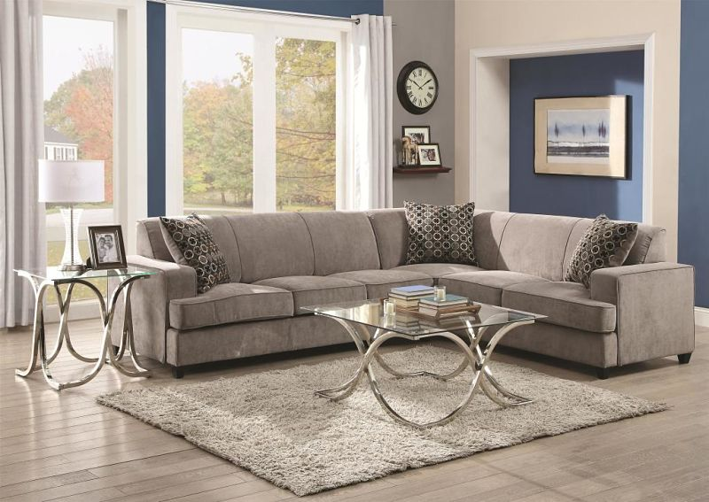 Tess Sectional with Sleeper