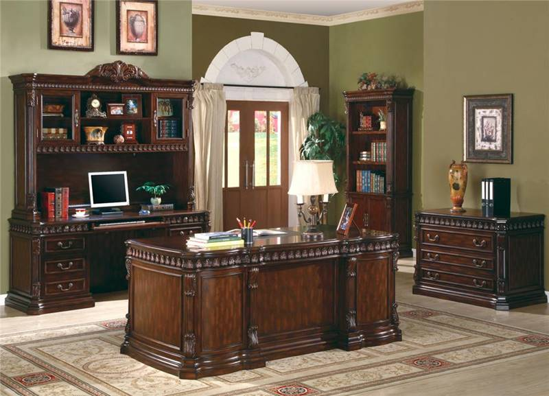 Tucker Computer Desk With Hutch