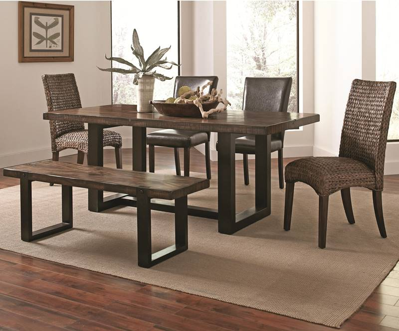 Westbrook Mix and Match Kitchen Table Set with Bench