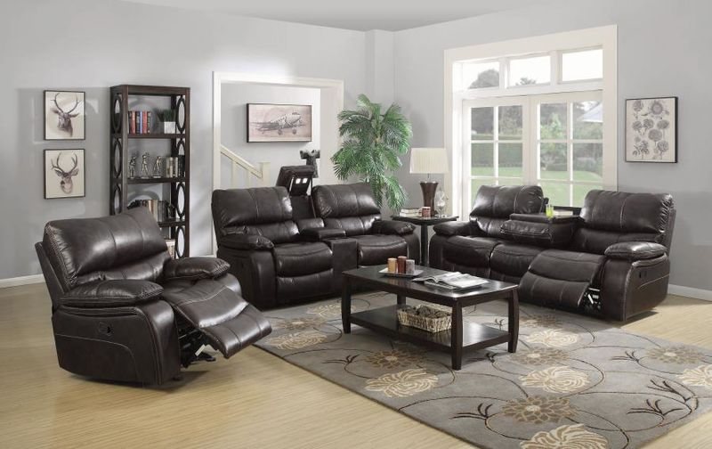 Willemse Reclining Living Room Set in Brown
