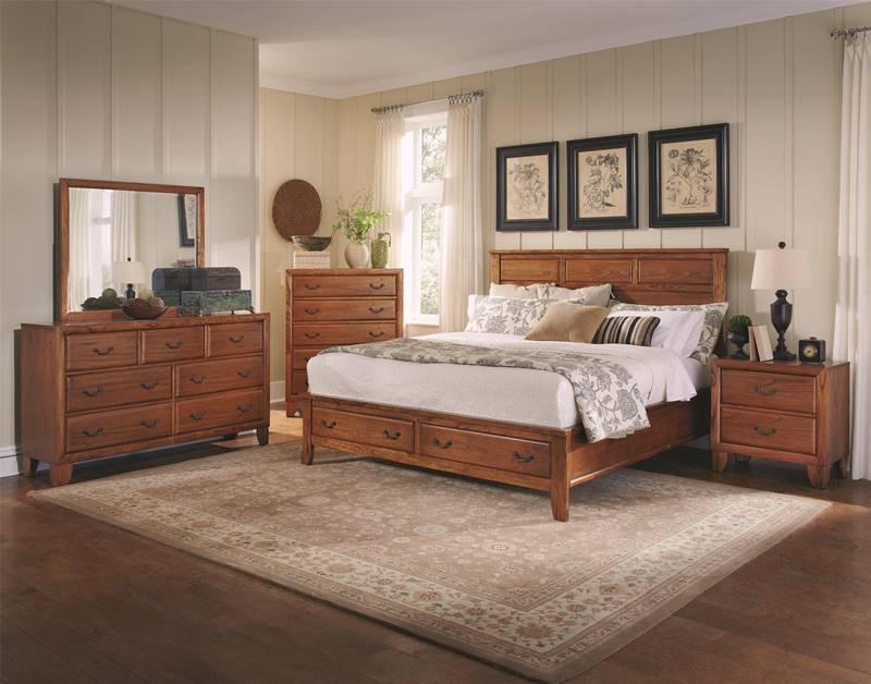 Willow Creek Bedroom Set with Storage Bed