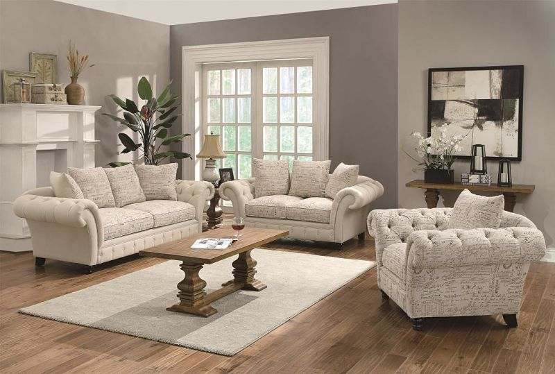 Willow Living Room Set with Reversible Cushions