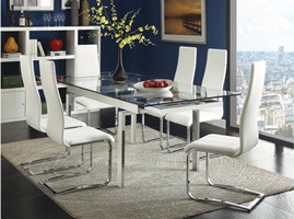 Wexford Dining Room Set_White