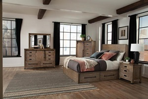 Meester Storage Bed Bedroom Set