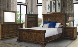 Condesa Tobacco Bedroom Set