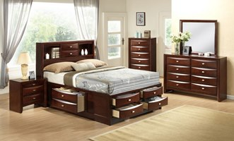 Cresson Bedroom Set with Storage Bed