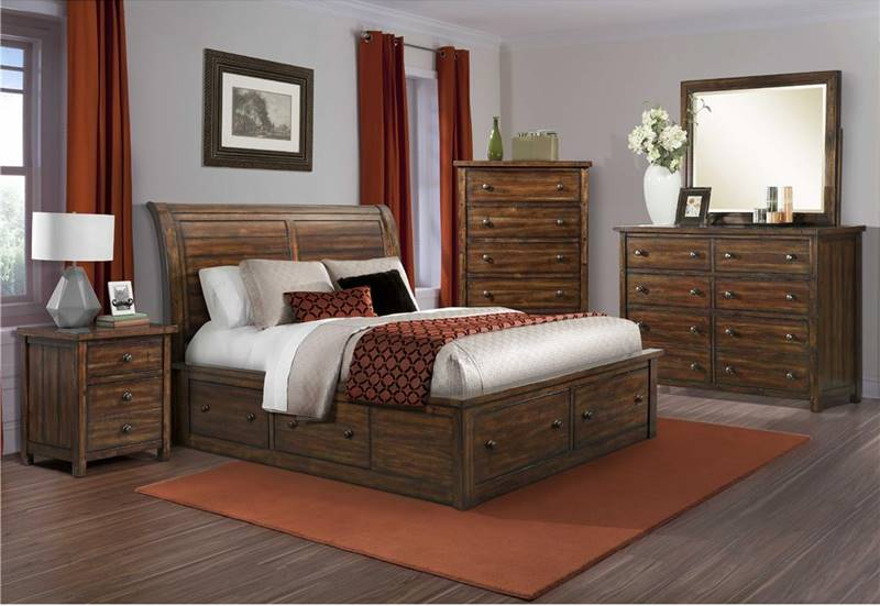 Dawson Creek Bedroom Set with Storage Bed
