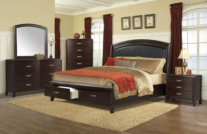 Delaney Bedroom Set with Storage Bed