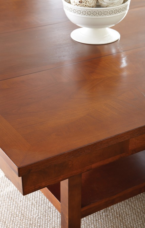 Eden Dining Table Set with Upholstered Bench