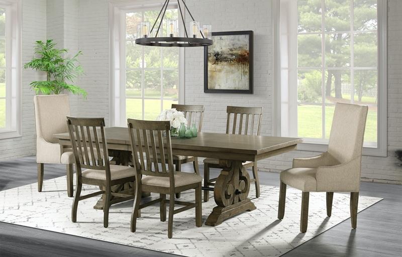 Stone Grey Dining Room Set