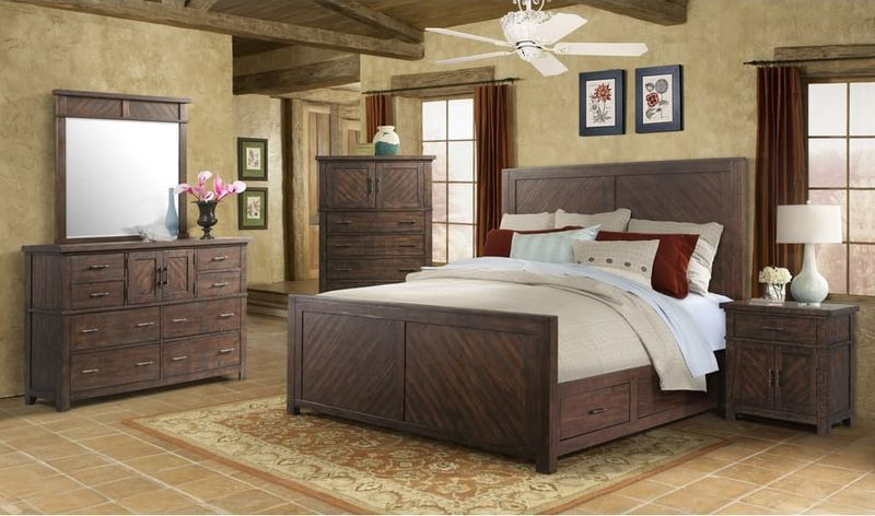 Elements Jx600 Jax Bedroom Set With Storage Bed Dallas