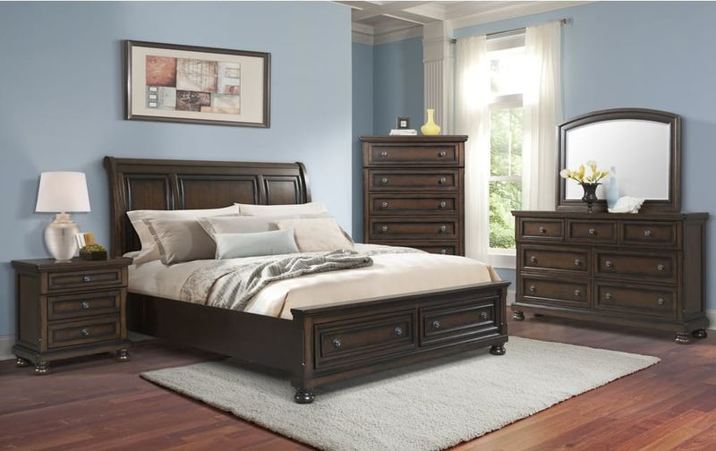 Kingston Bedroom Set with Storage Bed