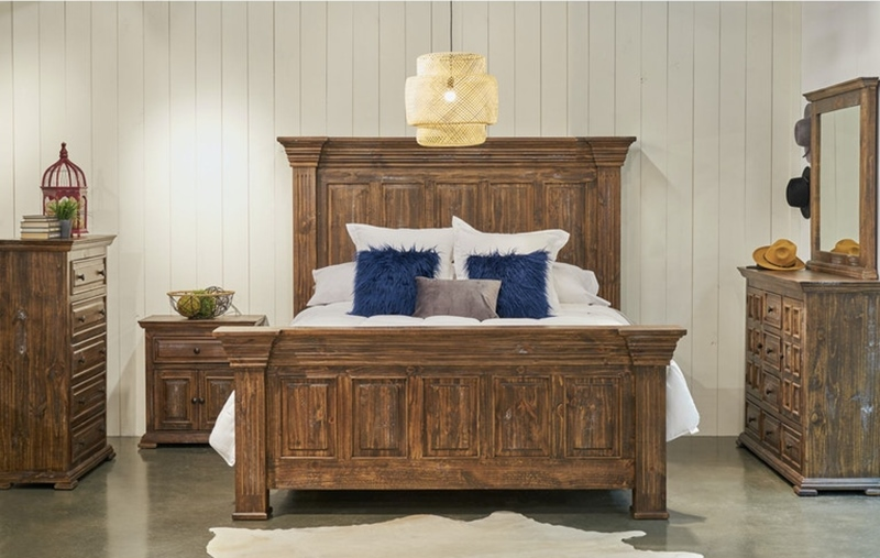 Olivia Brown Bedroom Set